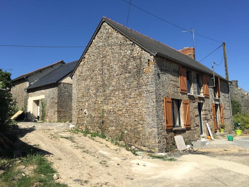 R novation et extension d 39 une ancienne maison guichen 35 - Transformer une maison ancienne ...
